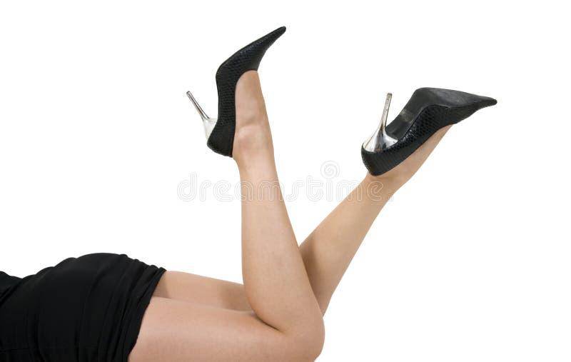 行程妇女 免版税库存照片