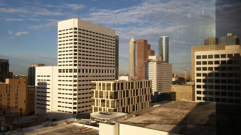 街市休斯敦 免版税库存图片
