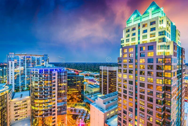 街市佛罗里达奥兰多 免版税库存图片