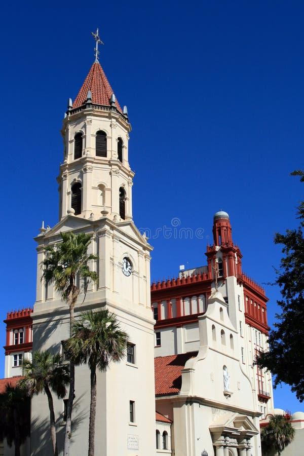 街市圣奥斯丁,佛罗里达 免版税库存照片