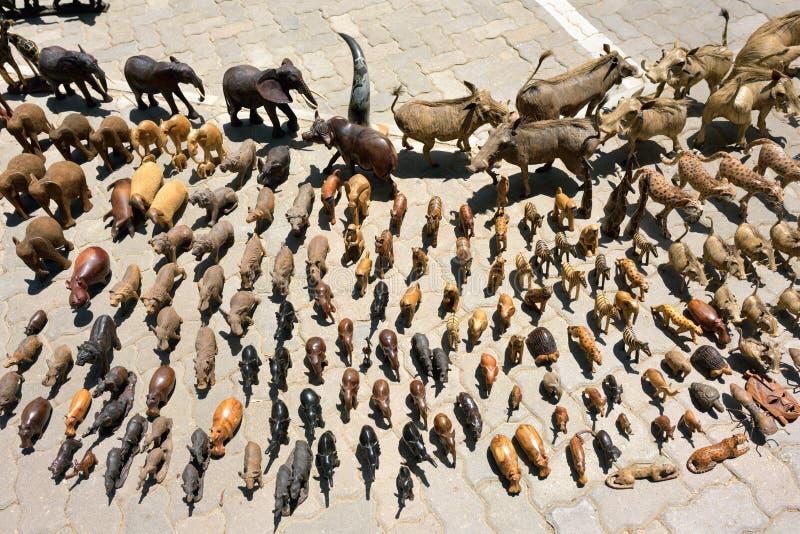 街市在斯瓦科普蒙德,纳米比亚 库存照片