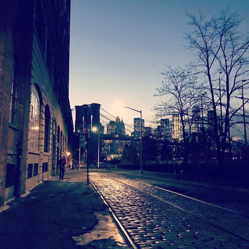 街市布鲁克林 库存照片
