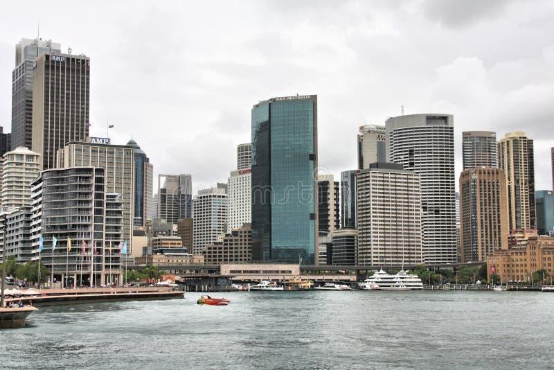 街市悉尼 免版税库存照片
