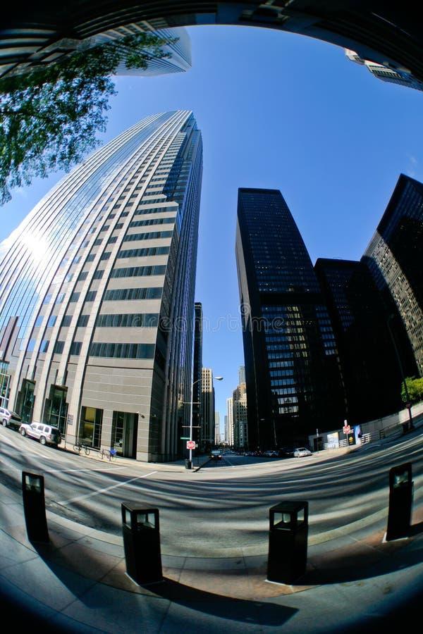 街市摩天大楼 库存图片