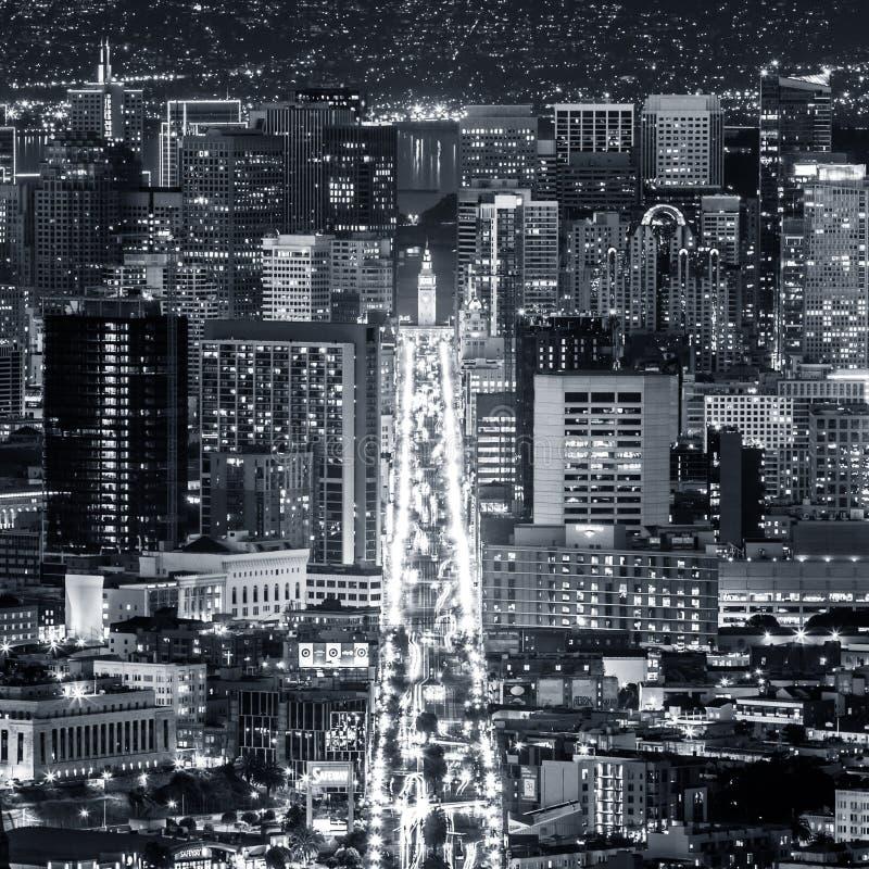 街市旧金山 免版税图库摄影