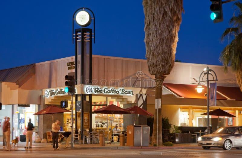 街市棕榈泉 免版税库存图片