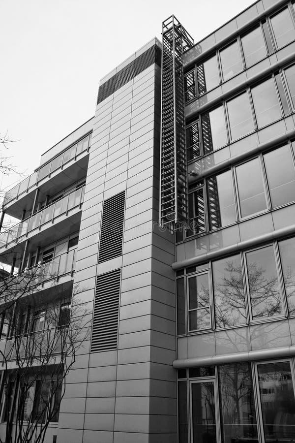 街市法兰克福 免版税库存照片