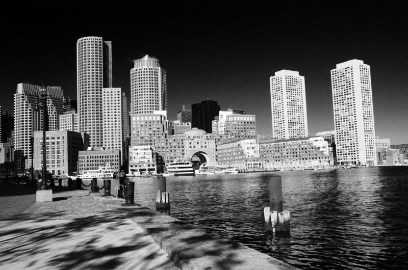 街市波士顿 免版税图库摄影