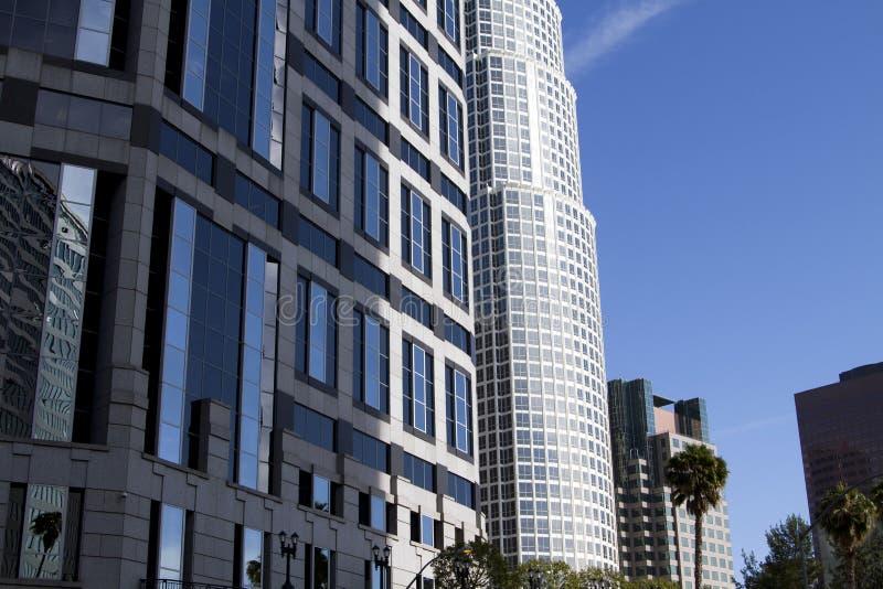 街市洛杉矶市大厦 库存照片