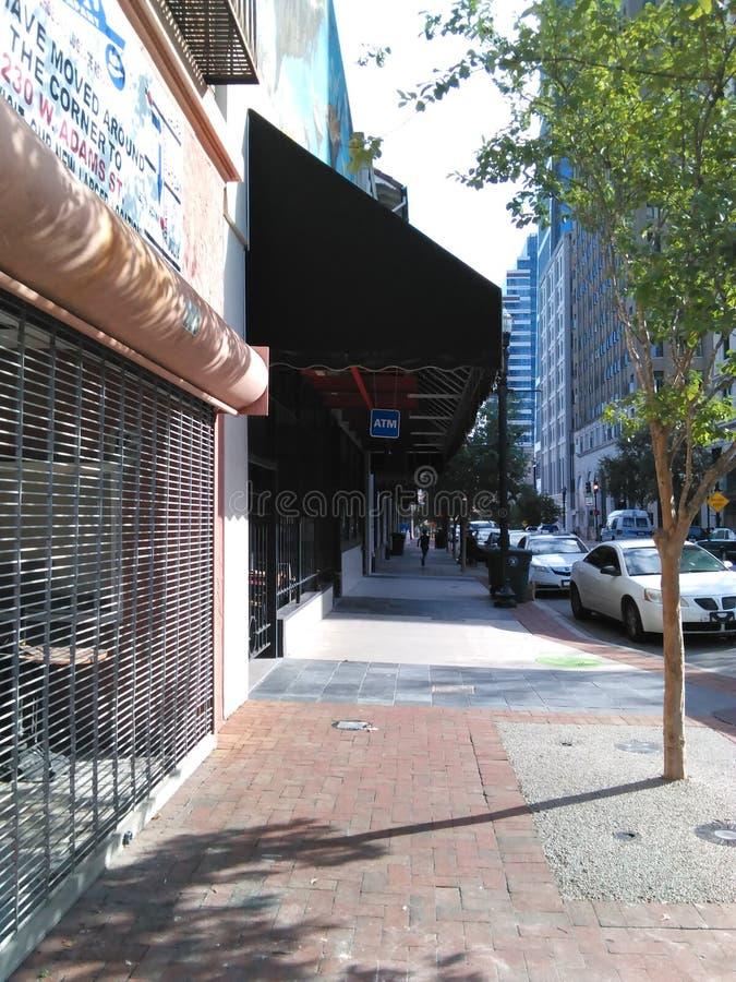 街市的步行 免版税图库摄影