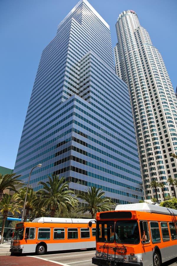 街市的洛杉矶 免版税库存图片