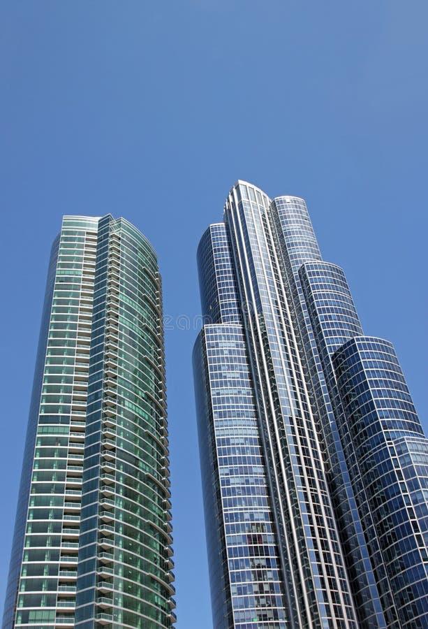 街市的芝加哥 免版税库存照片