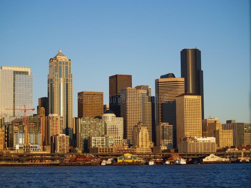 街市西雅图 库存图片