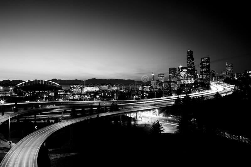 街市西雅图 免版税库存图片