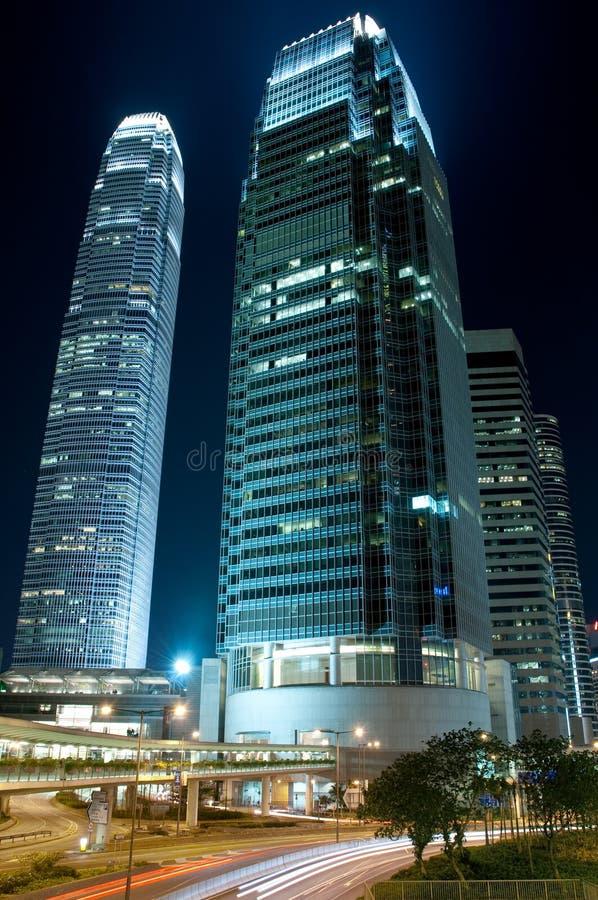 街市香港业务量 免版税库存照片