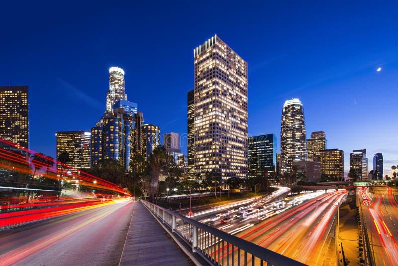街市洛杉矶 免版税库存图片