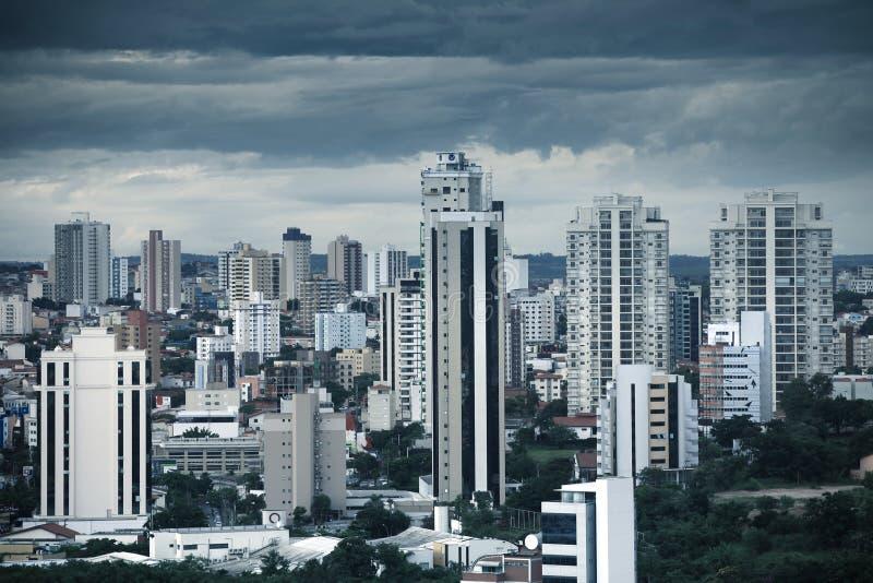 街市索罗卡巴在巴西 库存照片