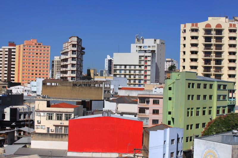 街市索罗卡巴 免版税库存图片