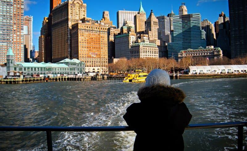 街市NYC的美好的图象 免版税库存照片
