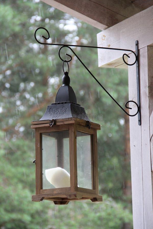 街灯在家 库存照片