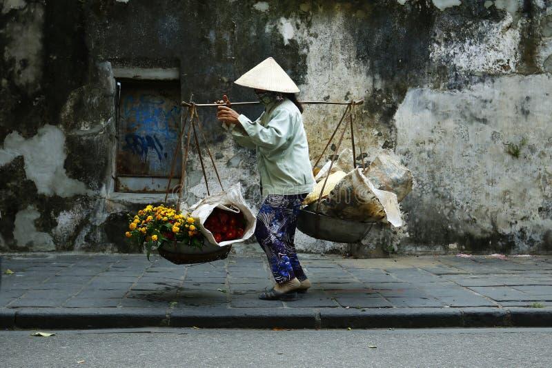 街边小贩 库存照片