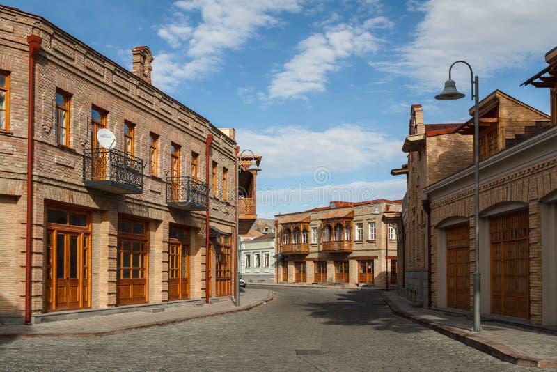 街道在Gori的中心 免版税图库摄影