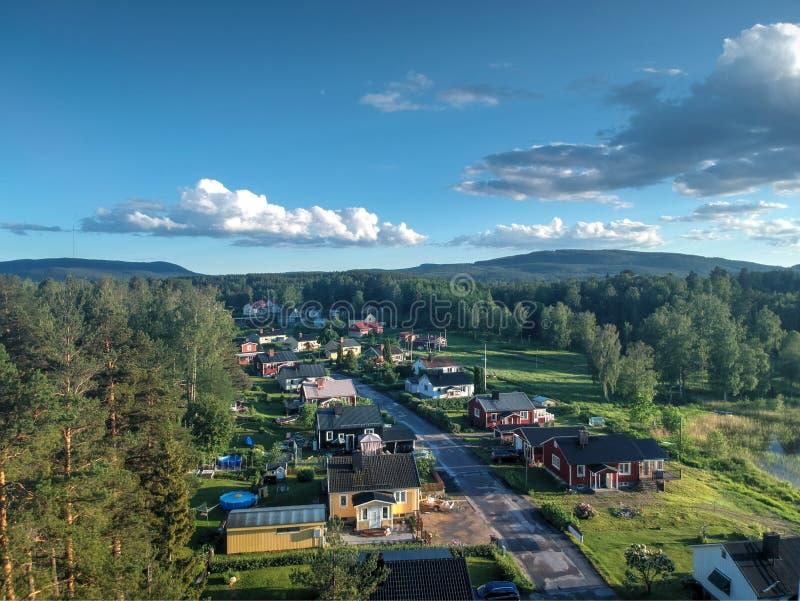 街道在Nasviken 免版税库存照片