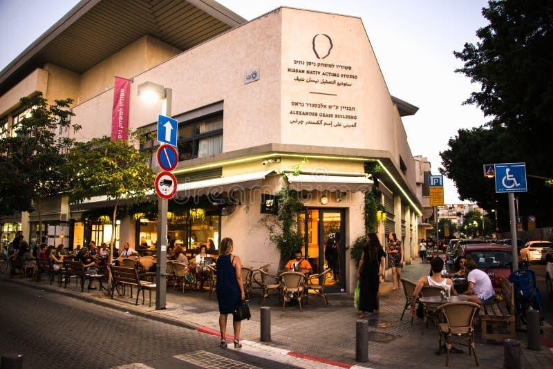 街道场面,贾法角,特拉维夫,以色列- 8 免版税库存图片