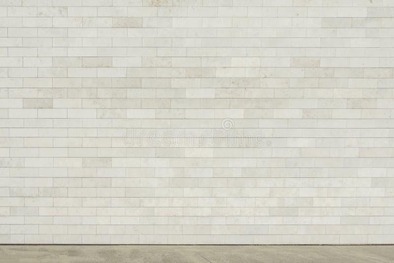 街道墙壁背景,空的灰色都市街道,工业背景 免版税库存图片