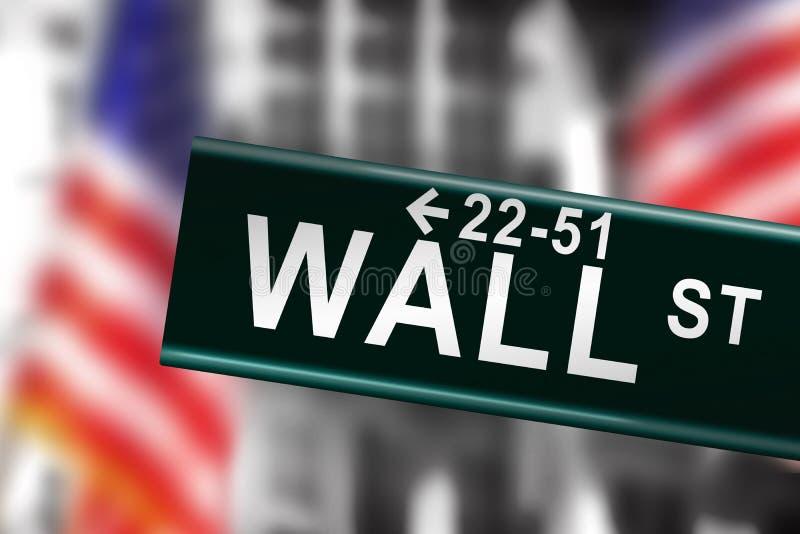 街道墙壁 向量例证