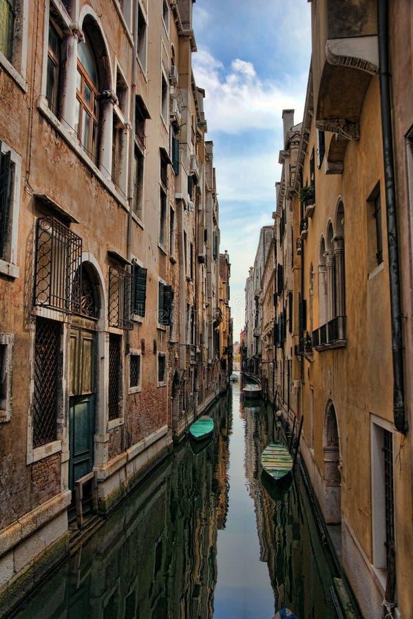 街道威尼斯 库存照片