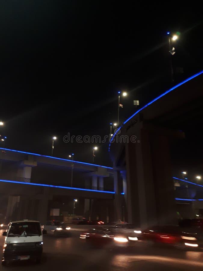 街道开罗 免版税库存图片