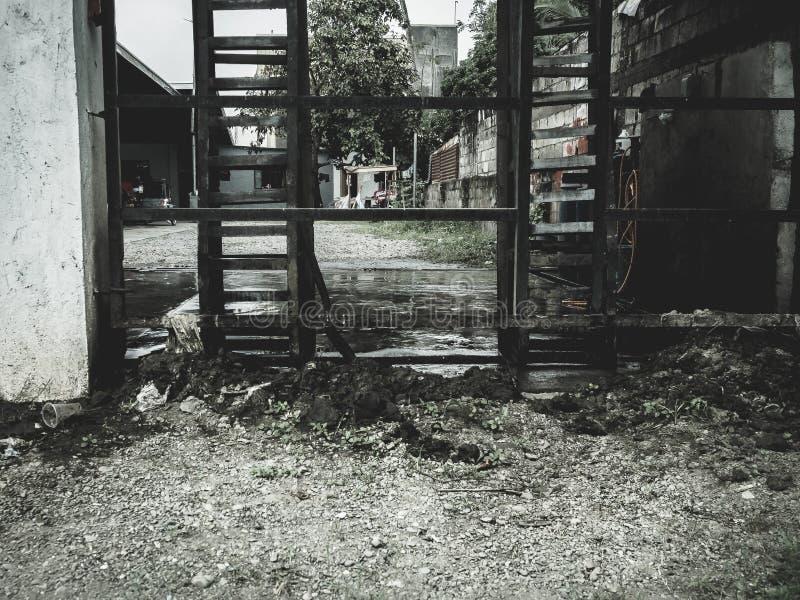 街道摄影发现打开具体区域 图库摄影