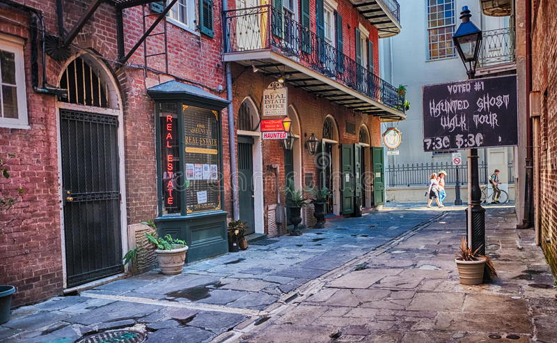 街道新奥尔良 免版税库存图片