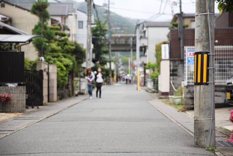 街道方式在日本 库存图片