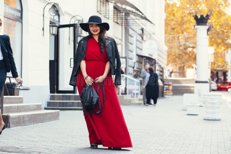 街道时尚,加上大小模型 免版税库存图片