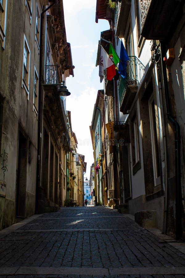 街道是空的 免版税库存图片