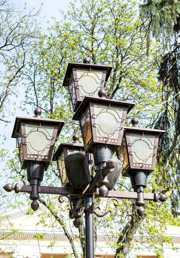街道灯笼 免版税图库摄影