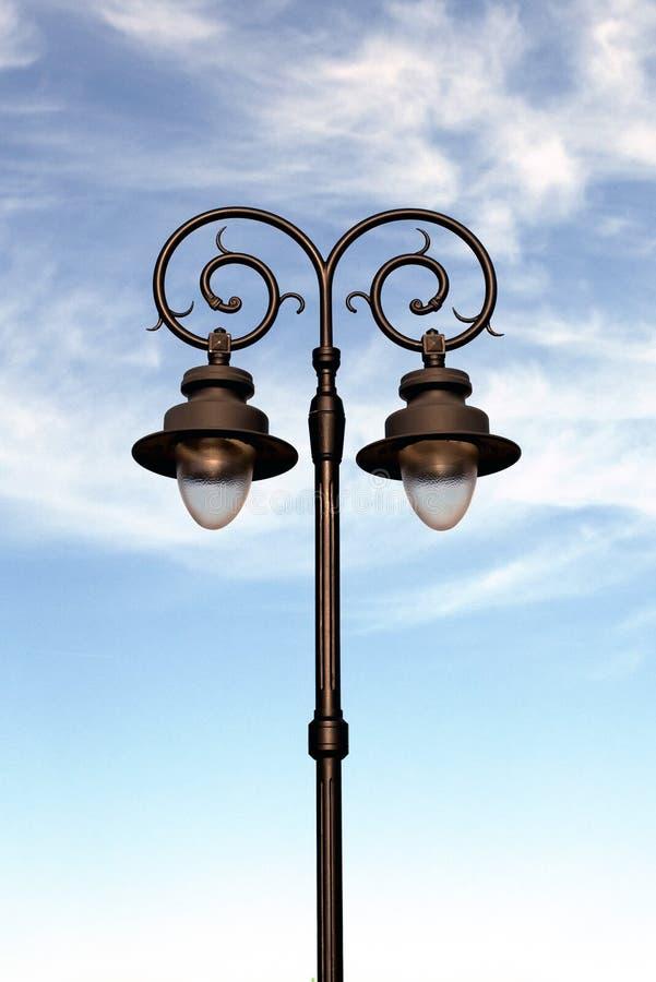 街道灯笼 库存图片
