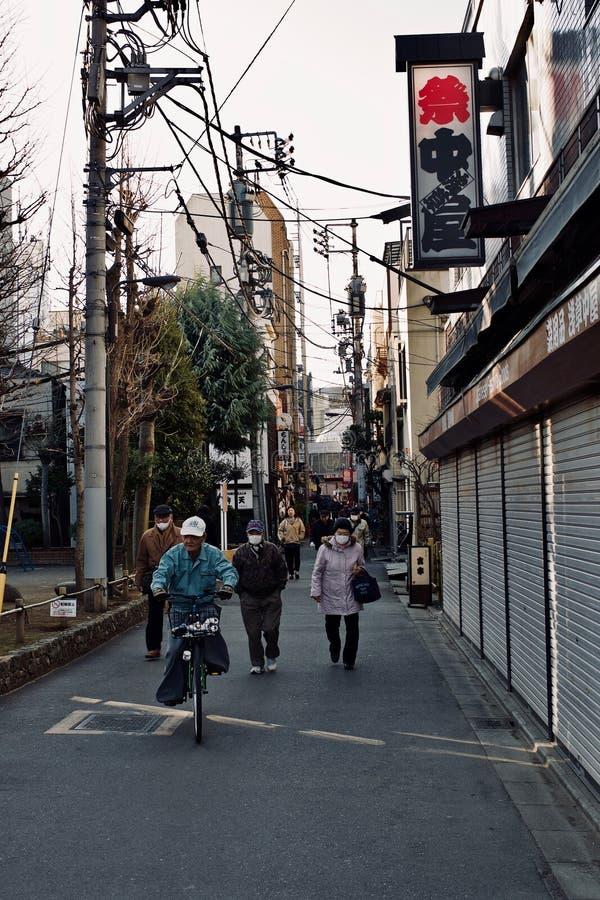 街道生活在东京 图库摄影