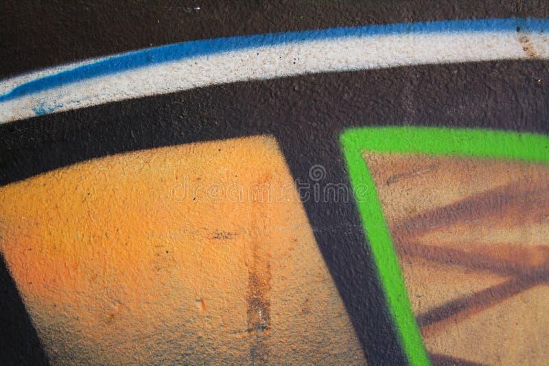 街道画的片段 库存图片