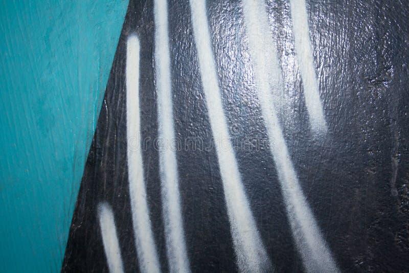 街道画的片段 免版税库存照片