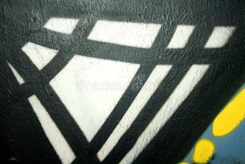 街道画的片段 免版税库存图片