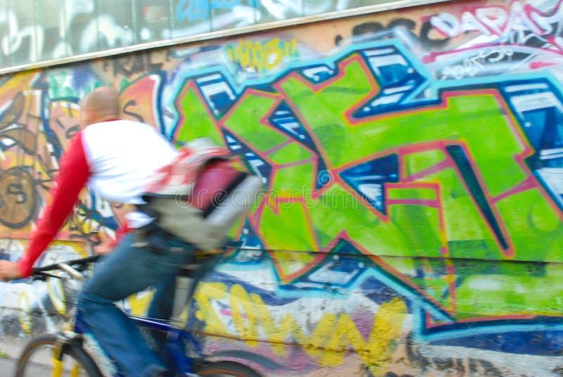 街道画 免版税库存图片