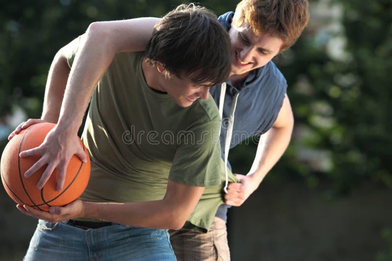 街道篮球 免版税库存照片