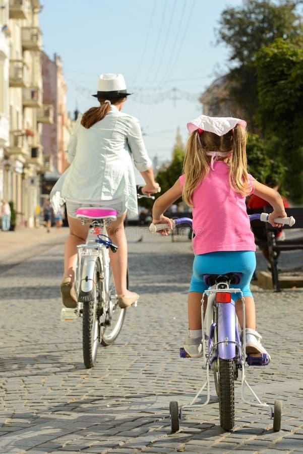 街道自行车 免版税库存照片
