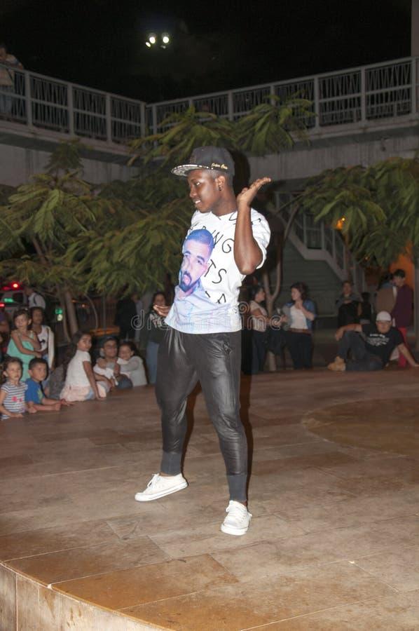 街道舞蹈家霹雳舞 免版税库存图片