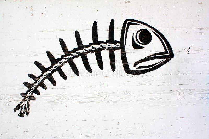 街道艺术在吉恩威 免版税图库摄影