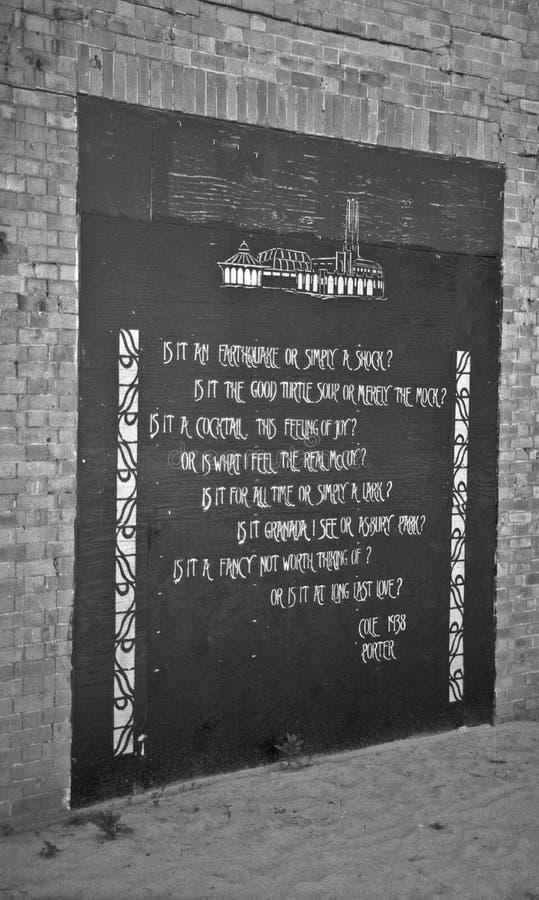 街道艺术壁画 库存图片