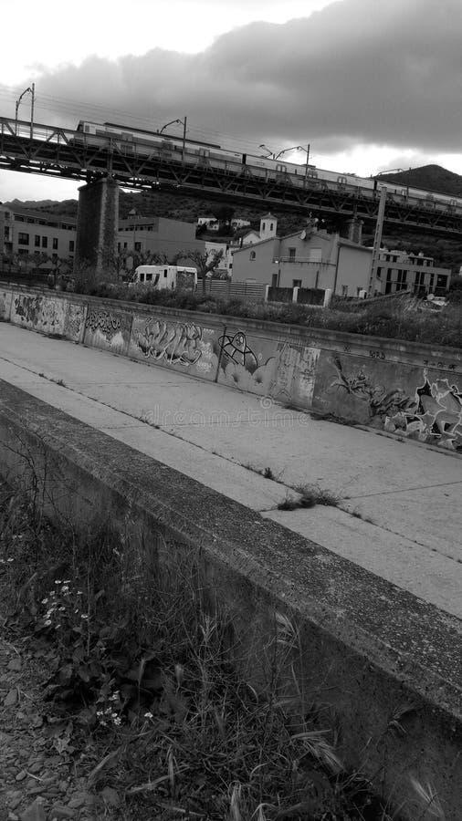 街道艺术西班牙Colera肋前缘Brava 库存图片